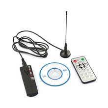 LONP USB DVB-T tuner SDR+DAB+FM RTl2832U R820T HD digital satellite tv receiver & DVB T/DVBT HDTV tv stick antenna dongle(China)