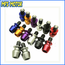 Freeshipping For Honda For Kawasaki For Suzuki For BMW For Ducati motorcycle handlebar plugs to deal with obstruction blocking(China)