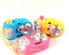 Kids Children Projection Simulation Camera Model Baby Educational Toy(China)