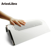 AriesLibra Powerful Nail Dust Suction Collector with 3 Fan Vacuum Cleaner Manicure Clean Tools with 2 Dust Collecting Bags(China)