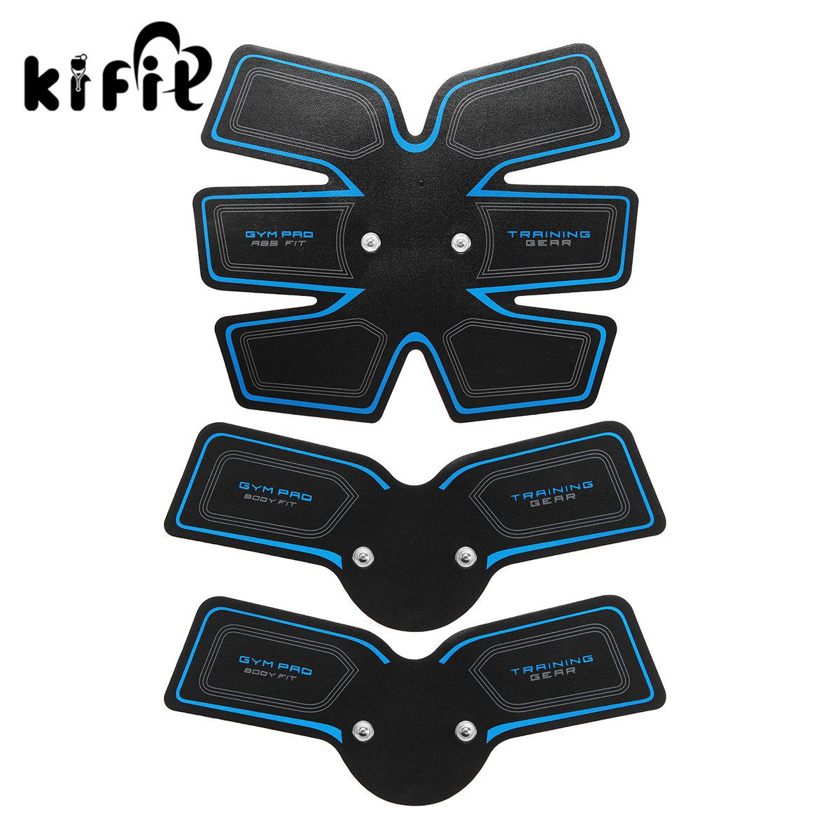 Kifit USB Man Muscle Fit Training Gear Abdominal Body Home Exercise Shape Fitness Set Electric Weight Loss Slimming Massager<br>