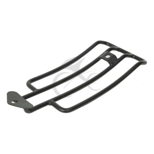 Black Luggage Shelf Frame Rack For Harley Sportster XL 883 1200 85-03 90 91 92<br>