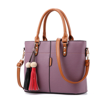 Fashion Tassels Design Women Messenger Bags PU leather Casual Brief Bags Sac A Main Femme De Marque For Shopping Korea Style