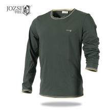 2016 new JOZSI Men  Cotton T-Shirt Long Sleeve UV Protection Outdoor T shirt Blouses