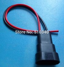 100x HID Xenon Ballast Power Cable wire with male connectors socket for 9006 blub holder of car for Lexus for Toyota