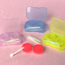 Best Transparent Pocket Contact Lens Case Travel Kit Easy Take Container Holder