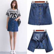 Women Fashion Denim Skirt Lady Mini Jean Skirt Girl Casual Stylish Light Blue Skirts High Waist S/M/L/XL/XXL 36 6 8 10 38 12 40