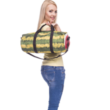 Fashion Training Gym Bag Woman Yoga Bag 3D Printing Watermelon Pattern Durable Multifunction Outdoor Portable Shoulder Travelbag