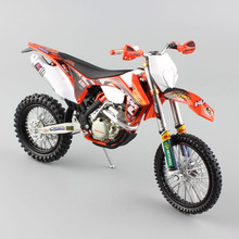 1:12 scale Supercross KTM 350 EXC-F red bull racing Motorcycle Diecast metal Model Motocross enduro motor bike car miniature toy(China)