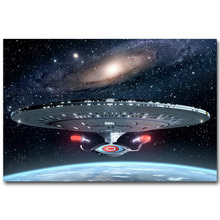 Star Trek 3 Beyond Art Silk Fabric Poster Print 13x20 24x36inch New Movie USS Enterprise Picture for Room Wall Decor 028