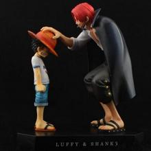 Akakami No Shankusu Luffy Japanese Anime Figures One Piece Action Figure Pvc Figures Model Girls Kids Lover Children Best Gift(China)