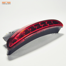 1 Pcs LED Motorcycle Rear Fender Light Moto Taillight Break Stop Lamp Case for Harley XL883L XL883N Iron XL1200n Chopped