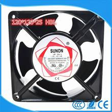 SUNON 12025 HSL Axial flow fan AC220V cooling fan blower 120*120*25mm SLEEVE bearing NEW(China)