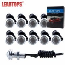 LEAPTOPS 1PCS18/23 DRL LED CAR Eagle Eye Daytime Running Lights Source Reversing Parking Signal Lamp Auto Waterproof DayLight DH