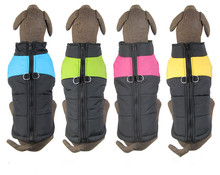 Large Pet Dog Warm Winter Clothes Big Dog Apparel Dog Zipper Vest Winter Clothing Jacket Coat Top Qualilty Dog Supplies(China)