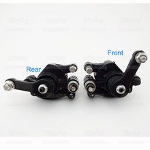 Front & Rear Disc Brake Caliper For 47cc 49cc Scooter Kid Baby Crosser 2 Stroke ATV Quad Dirt Pocket Mini Bike Motorcycle Cross