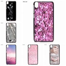 Fashion Cell Phone Case Pink Sliver Glitter For HTC One M7 M8 M9 A9 Desire 626 816 820 830 Google Pixel XL One plus X 2 3(China)