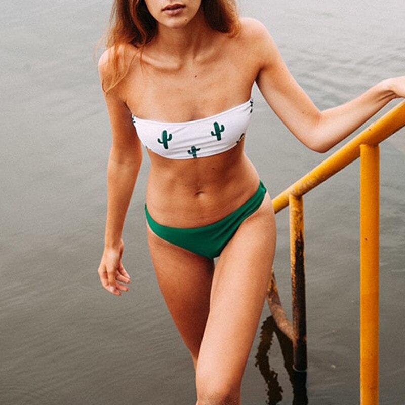 Push up swimsuit Print micro bikini 8