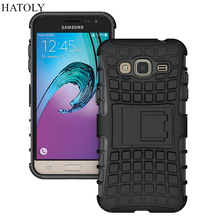 For 2016 Samsung Galaxy J3 Case J300 J310 J310F Heavy Duty Armor Shockproof Rubber Silicone Phone Case Cover For Samsung J3 *<