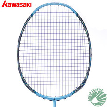 100% Original Kawasaki Master 600 700II 800II Badminton Racket 3 IN 1 Box Type Frame with Scale X Technology Raquete Badminton(China)