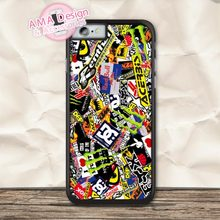 Sticker Boom Racing Motorbike Classic Protective Case For iPhone X 8 7 6 6s Plus 5 5s SE 5c 4 4s For iPod Touch(China)