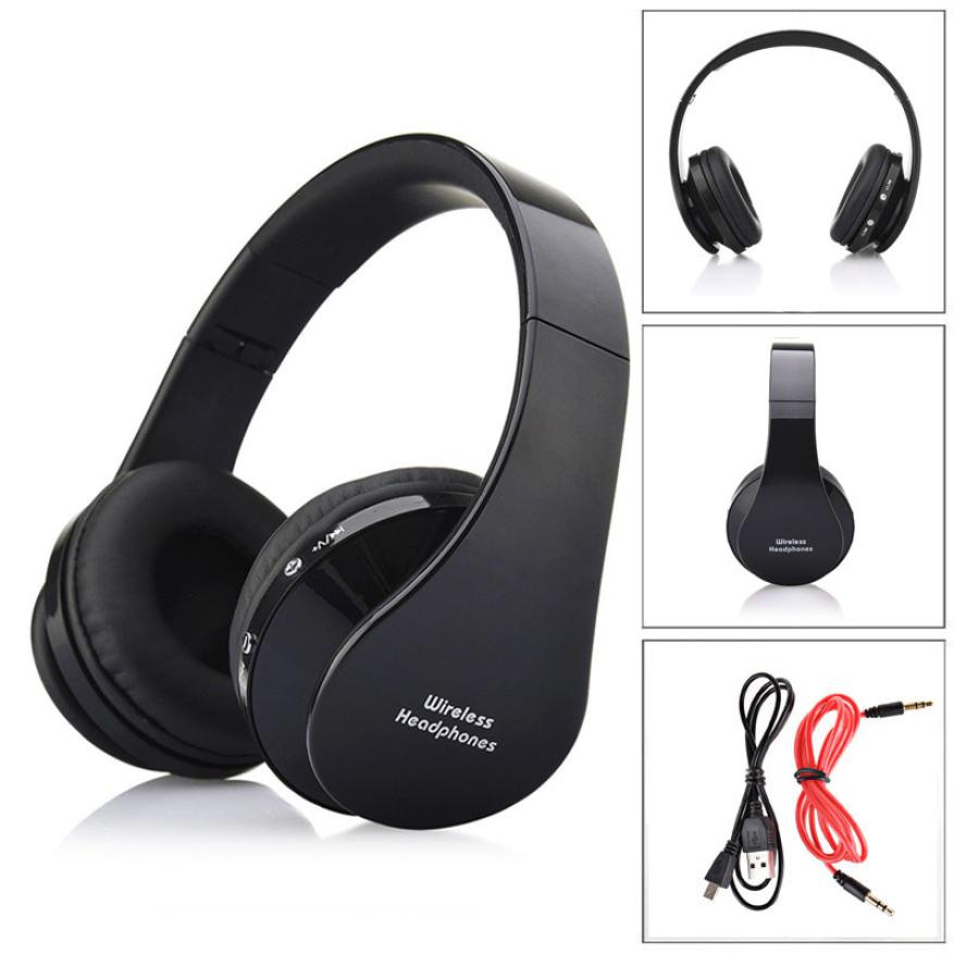 Factory Price foldable design and adjustable length Wireless Bluetooth Earphone Stereo Headset with audio jack Headphones Nov7<br><br>Aliexpress