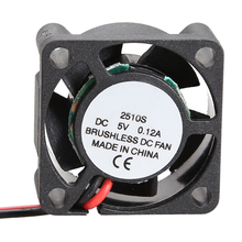 2510S 5V Cooler Brushless DC Fan 25*10mm Mini Cooling Radiator Micro Brushless Cooling Cooler Fan
