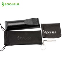 SOOLALA  Original Brand Eyewear Accessories Glasses Case Bag Cloth Screwdriver Glasses Box Case Reading Glasses Pouch for Myopia