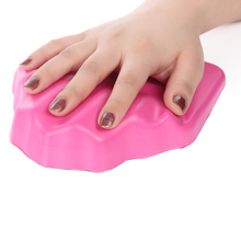 Soft Silicone Nail Pillow Hand Rest Cushion Non-slip Nail Hand Holder Base Palm Cushions for Salon Nail Manicure Tools Equipment(China)