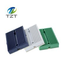wholesale 1pcs/lot SYB-170 Mini Solderless Prototype Experiment Test Breadboard 170 Tie-points 35*47*8.5mm(China)