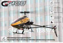Free shipping !!! Walkera G400 Six- axis RTF 6ch GPS 3D Flybarless w/ DEVO 7 RC Helicopter GPS Function