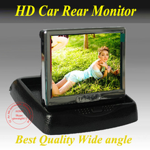 "Big Discount  4.3"" Car Monitor Auto Color TFT LCD Monitor Rearview DVD w/ PAL/NTSC Free Shipping Wholesale"