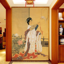 photo wallpaper Chinese ancient beauty wallpaper mural decoration entrance hallway office bedroom wallpaper