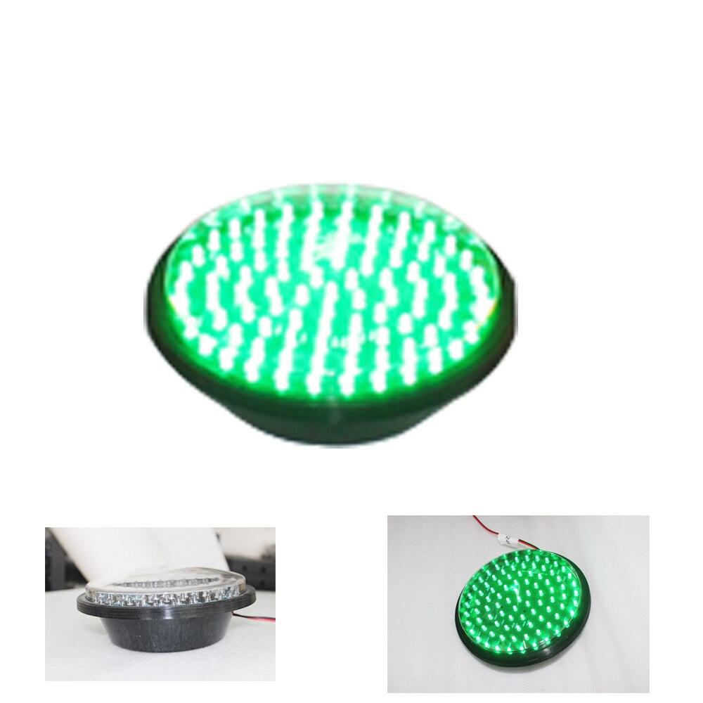 Traffic Signal Light Module 200mm Diameter 8 Inch Green Go Sign Road Safety Light DC 12 V Cheap LED Cluster<br>