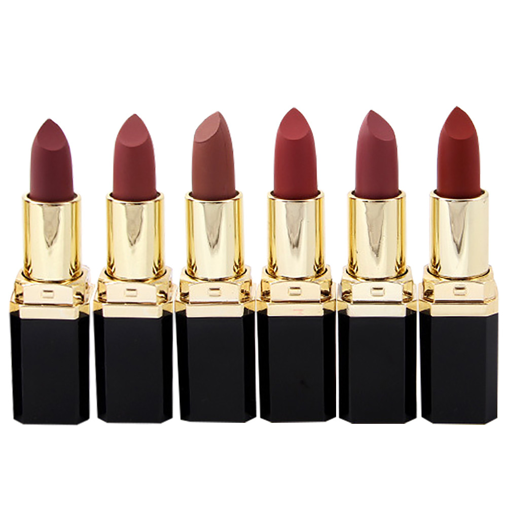 Best Deal New Fashion 24PCS Lipstick Moisturizer Smooth Lips Stick Long Lasting Charming Lip Lipstick Cosmetic Beauty Tool<br>
