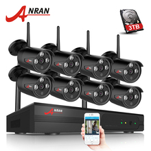 ANRAN 8CH CCTV System Wireless 1080P NVR 8PCS 2.0MP IR Outdoor Waterproof P2P Wifi Security Camera System Surveillance Kit