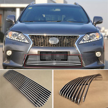 Aluminium Front Center Racing Grills Billet Grille Cover For Lexus RX270 RX350 RX450