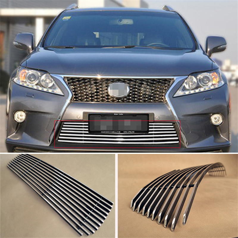 Aluminium Front Center Racing Grills Billet Grille Cover For Lexus RX270 RX350 RX450<br><br>Aliexpress