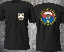 US ARMY Special Operations Command Korea T shirt Men two sides 100% cotton casual gift tee USA Size S-3XL