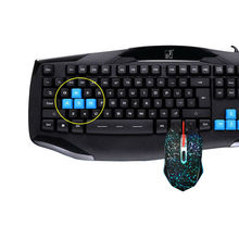104 Keys Mechanical Keyboard Mouse Combos Blue Switch Rainbow Backlit clavier Gaming Keyboard  and  Mouse kit for PC Gamer