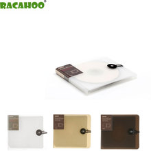 RACAHOO Free Shipping New Practical And Beautiful CD Case Storage Box Can Be Put Into 12 CD For Car And Home Storage