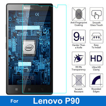 0.26MM 9H Tempered Glass for Lenovo P90 Screen Protector P 90 /K80/K80m Dual Sim Lte Anti-shatter Glass Film