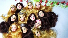 5pcs Foreign Trade Original Heads For Barbie Dolls DIY Birthday Gifts Mix-Style Dolls Heads Factory Wholesale Price