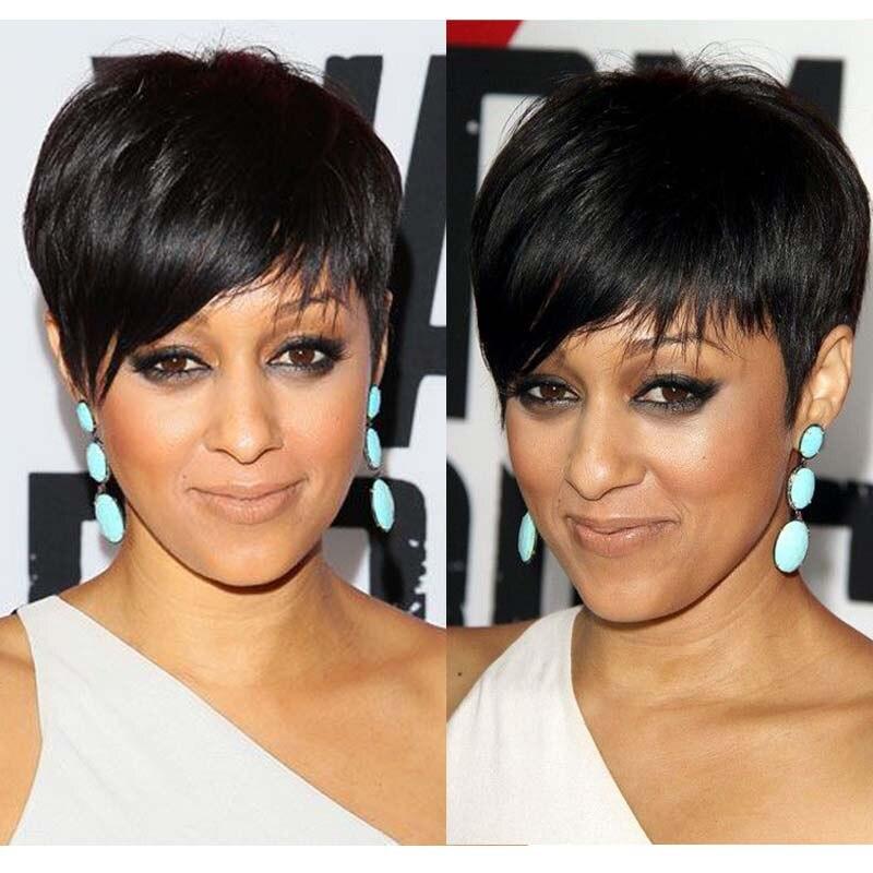 Модные короткие стрижки для прямых волос