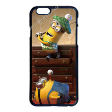Minion Play Golf Cover Case for iPhone 4 4S 5 5S 5C 6 6S 7 Plus iPod 5 Samsung Galaxy S3 S4 S5 Mini S6 S7 Edge Plus Note 2 3 4 5