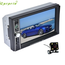 New Arrival 7 Double 2 Din Touchscreen In dash Car Stereo Radio Mp3 Player FM Aux + Camera fe20(China)