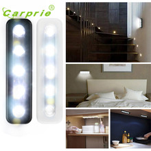 5X Bright Battery Operated Bulb Stick On Push On Strip Lights Kitchen Shed Wall Lamp u70220