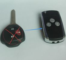Modified Flip Remote Key Case Shell For TOYOTA Rav4 Corolla Hilux Yaris Avalon Echo Prado TOY43 3 Button