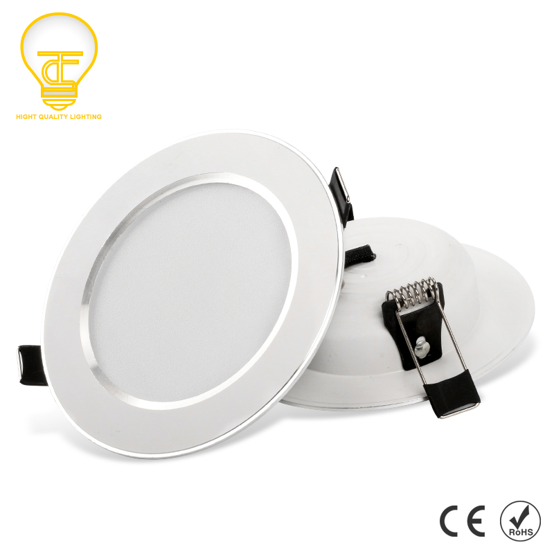 LED Downlight 3W 5W 7W 9W 12W 15W Round Recessed Lamp 220V 230V 240V Led Bulb Bedroom Kitchen Indoor LED Spot Light(China)