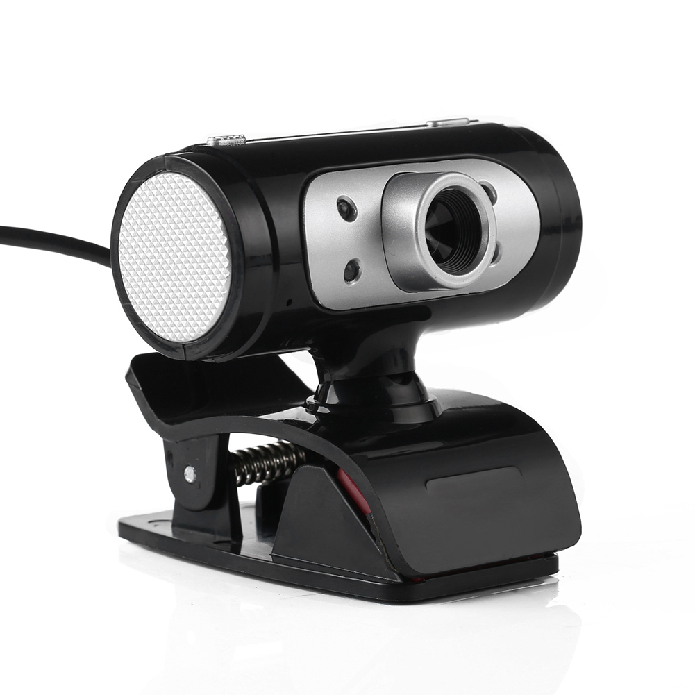 High Definition 1280*720 720p Pixel 4 LED HD Webcams Web Cam Camera With Night Lights For Computer High Quality<br><br>Aliexpress